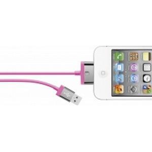 Belkin iPad/iPhone/iPod Datenkabel/Ladekabel [1x USB 2.0 Stecker A - 1x Apple Dock-Stecker 30pol.] 2 m Pin